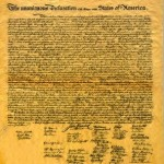 Bereshit 5772 — We hold these truths to be self-evident
